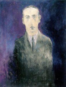 josef-sima-portrait-de-rene-daumal-huile-sur-toile-1929