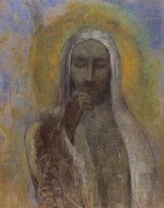 Odile Redon, [i]Christ du Silence[/i]