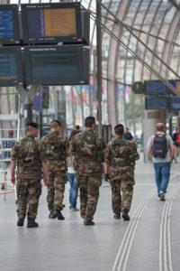 Soldats de l'opération Sentinelle
