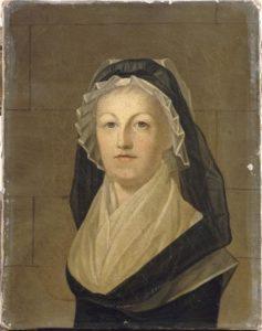 Portrait de la reine à la Conciergerie