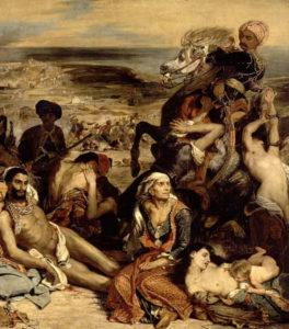 Les massacres de Scio durant la guerre d'indépendance de la Grèce