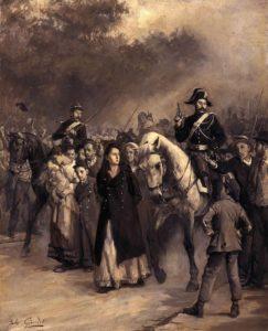 L'arrestation de Louise Michel le 24 mai 1871, par Jules Girardet.