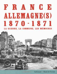 Couverture du catalogue de l'exposition publié chez Gallimard