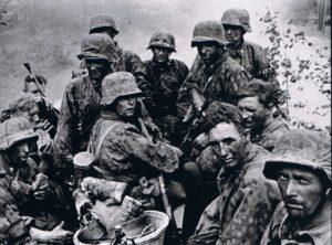 Soldats allemands sur le Front