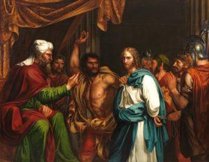 José de Madrazo y Agudo, Jésus dans la maison d'Hanne