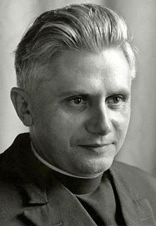 Joseph Ratzinger dans les années 1960