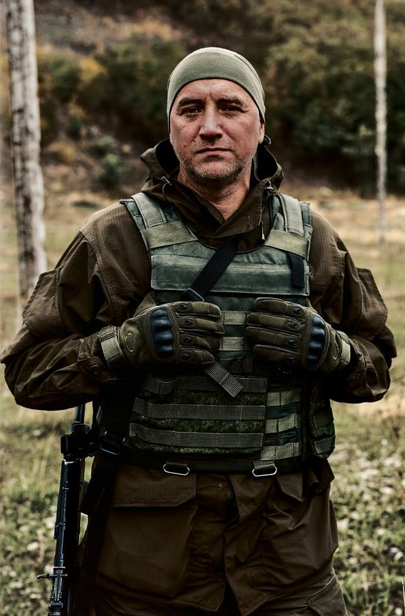 Zakhar Prilepine dans le Donbass